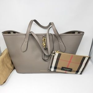 Brand New Burberry Derby Leather Honeybrook Tote